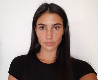 New face female model Lucía from Spain