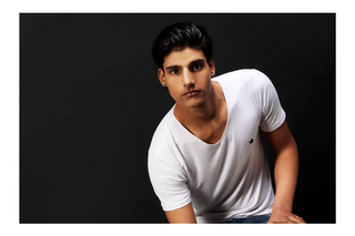Professional model male model Paurush from India