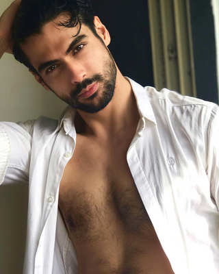New face male model Amin from Iran