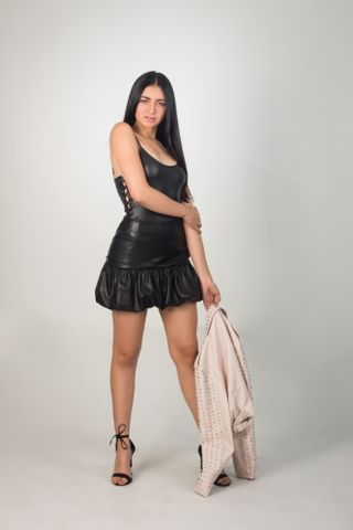 New face female model Luisa from Colombia