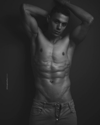 New face male model Carlos from Panama
