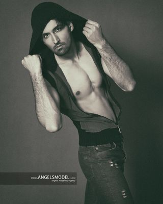 New face male model majid from Iran