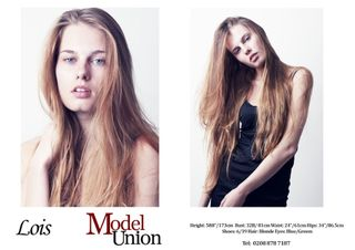 Agency model femme Mannequin LOIS from Royaume-Uni