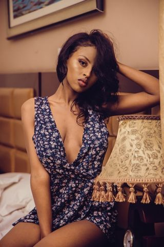 New face female model Tinsaye from Ethiopia