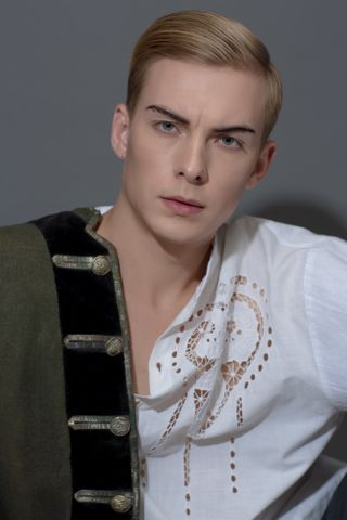 New Face männlich Model Dmitry from Russland