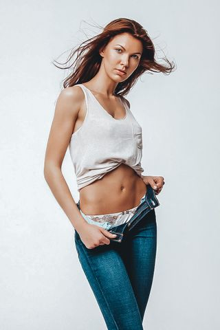 New face female model Ekaterina from United States