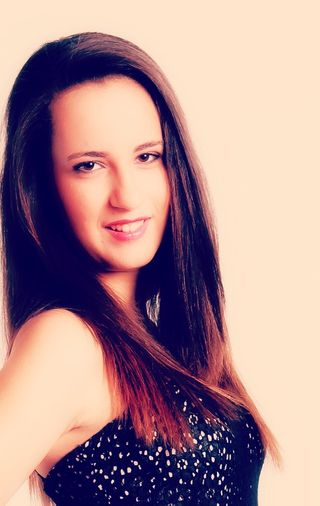 New face female model Elisabeth from Spain