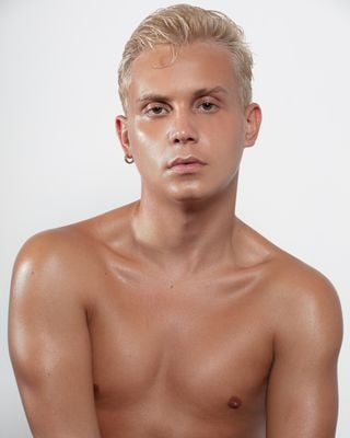 New face male model William from United States
