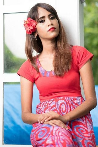 New face female model Sabeena from Fiji
