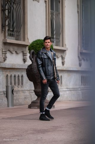 New face homme Mannequin Bruno from Italie