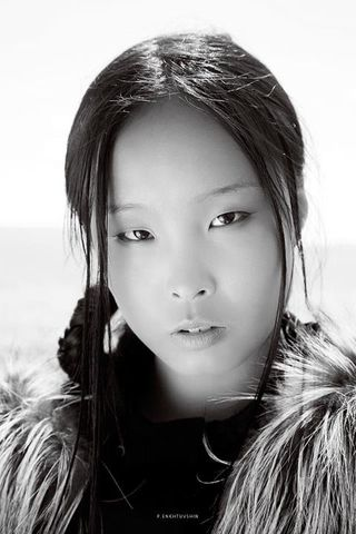 New face female model Michid from Mongolia