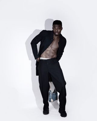 New face male model Kaima from Nigeria