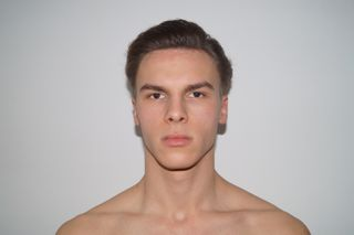 New face male model Antonino from Germany