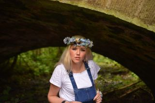 New face female model Kimberley from United Kingdom