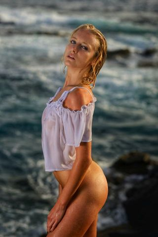 New face femme Mannequin Karolina from Czechia