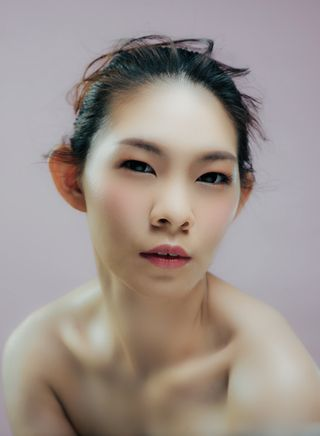 New face female model Nicole from Malaysia