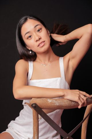 New face female model Hana from Australia
