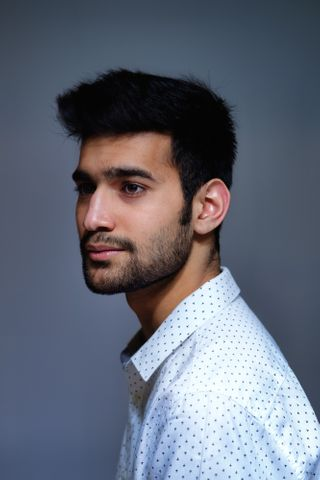 New face male model DIKSHANT from Canada