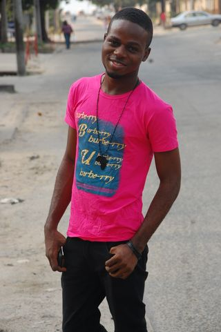 New face male model AJOSE from Nigeria