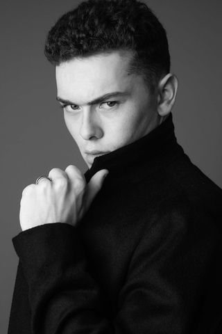 New face male model Fergus from United Kingdom