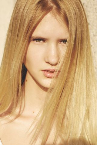 New face female model Evelina from Sweden