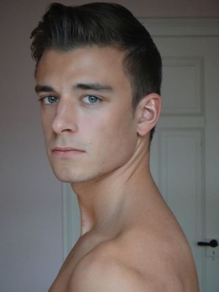 New face male model Simon from Switzerland