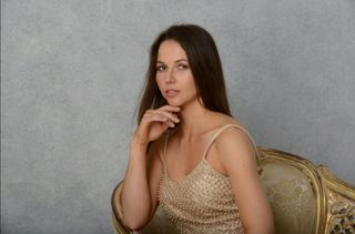 New face female model Ewelina from United Kingdom