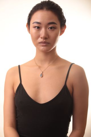 New face female model Haoqing from United States