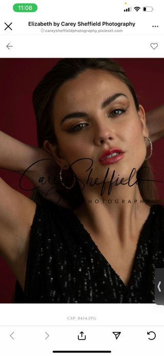 New face female model Elizabeth from United States