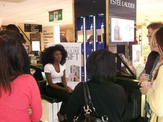 Estee lauder make-up launch