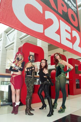 C2E2 2013 McCormick Center, Chicago IL