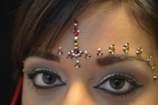 modeling for makeup artist for Indian wedding season
