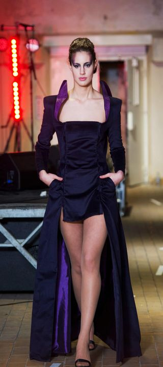 Claudia N Couture Fall 2013, Fashion Show in Bergen Norway at Bergen Schøtt.