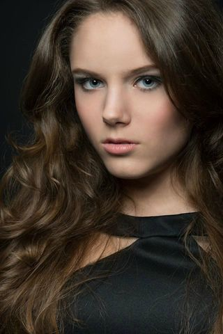 New face female model Elisabeth from Austria