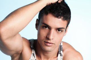 New face male model Jonathan from United Kingdom