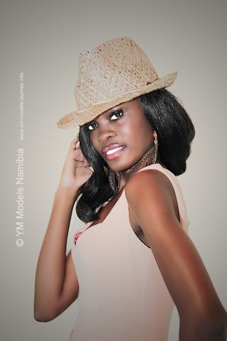 Aina Ekandjo: Model managed by YM Models Namibia