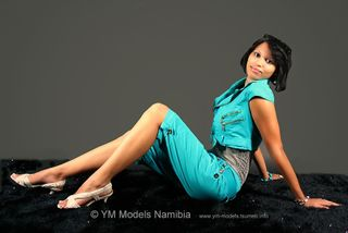 Dannia Delie: Model manahed by YM Models Namibia