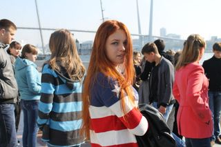 #Vladivostok #ginger #beauty