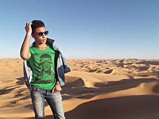 New face male model Abdou from Algeria
