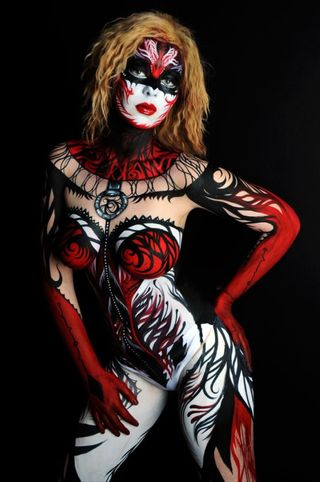 Body painting by NK