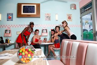 Trabajo realaizado para Restaurante Pin Up Alcoy