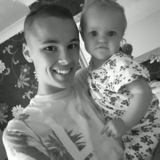 me and my god daughter