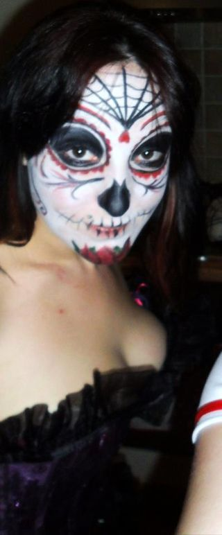 Non professional photos: Day of the dead inspired would like to do more of this style professionally i like the weird and wonderful :)