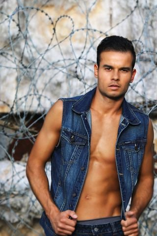 New face male model mat974 from France