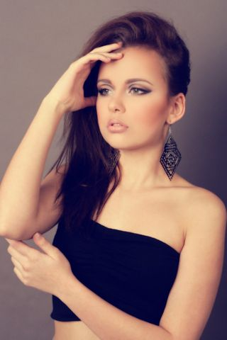 Agency model female model Hannah from Czechia