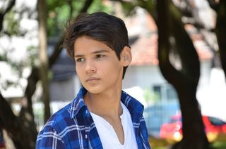 New face mężczyzna modelka, model IAGO from Brazylia