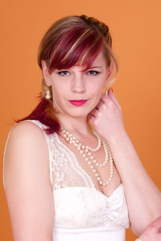 New face female model claire from United Kingdom