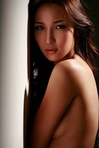 Professional model female model Selenge from Mongolia