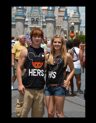 Senior and prom picture: Disney World picture 2014