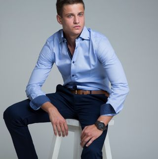 New face Male model Mirko from United Arab Emirates